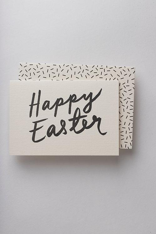 """Grußkarte """"Happy Easter"""""""