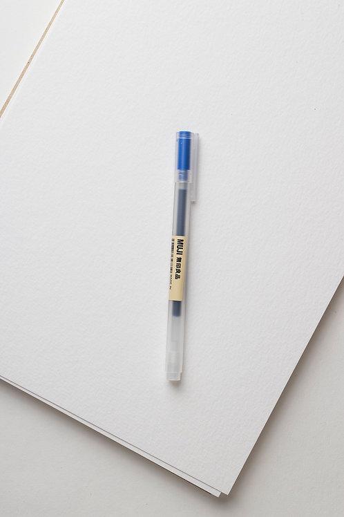Muji Gel Stift Gr. 05 (blau)