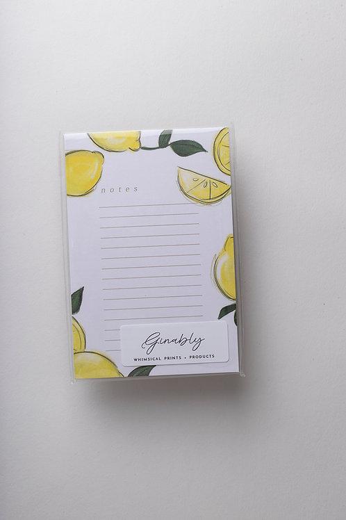 """Notizblock """"Lemon"""""""