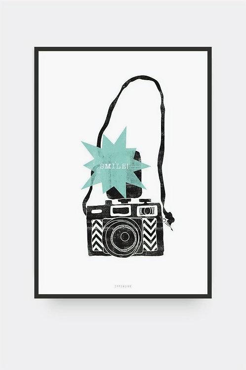 """Art Print """"Smile"""" (A4)"""