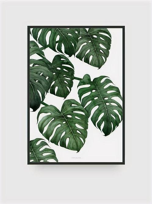"""Art Print """"Tropical No. 6"""" (A4)"""