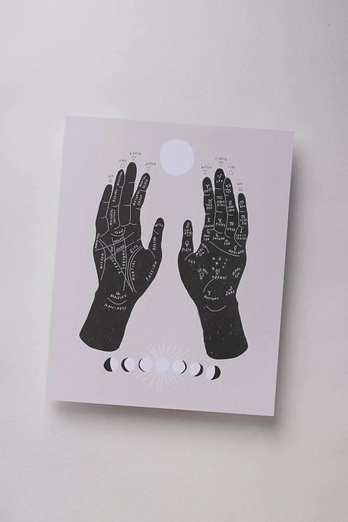 "Art Print ""Palmistry"""