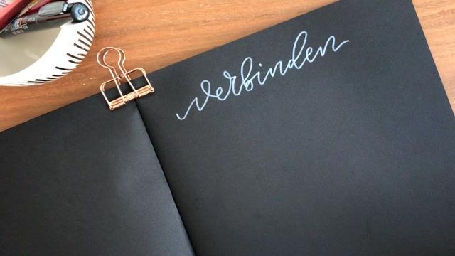 Buchstaben verbinden