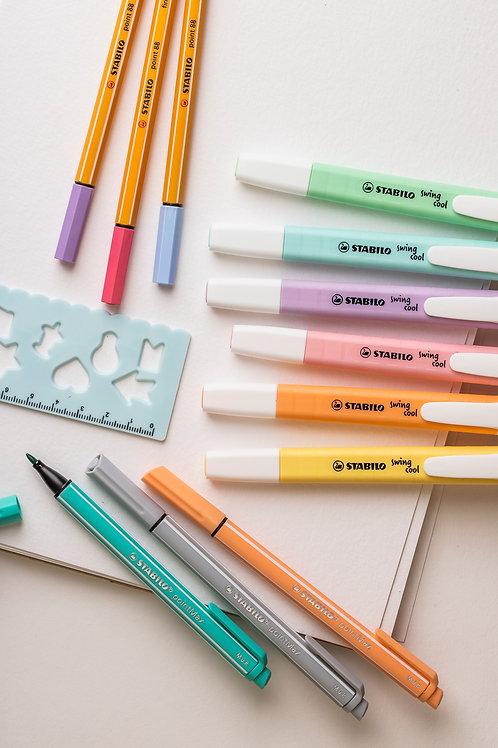 "Stabilo Set ""Pastel Collection"" (13-teilig)"