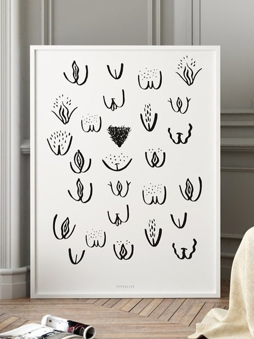 "Art Print ""Vulvarines"" (A4)"