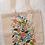 "Thumbnail: Tote Bag ""Floral Vines"""