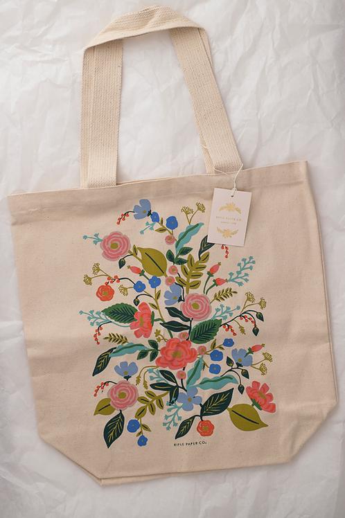 "Tote Bag ""Floral Vines"""