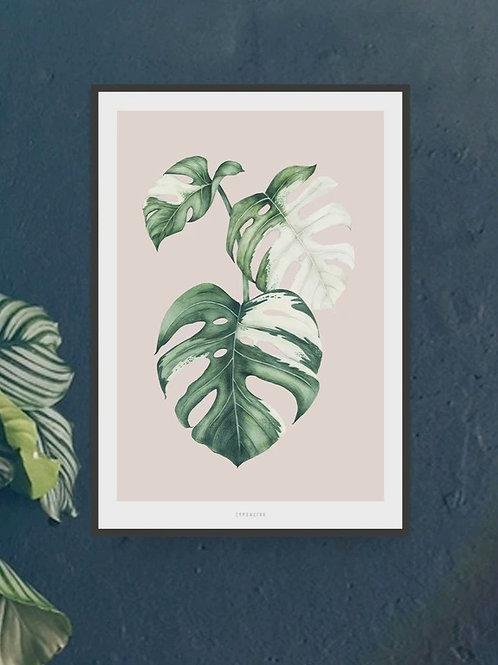 """Art Print """"Tropical No. 4"""" (A4)"""