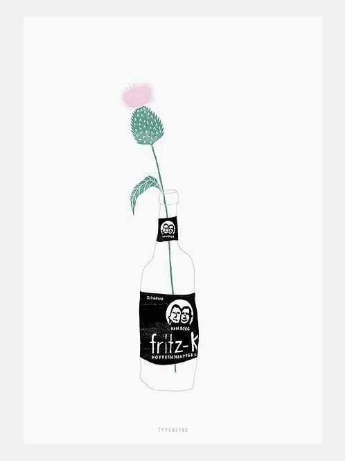 """Art Print """"Urban Jungle No. 5"""" (A4)"""