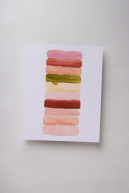 "Art Print ""Blushes"" (8x10'')"