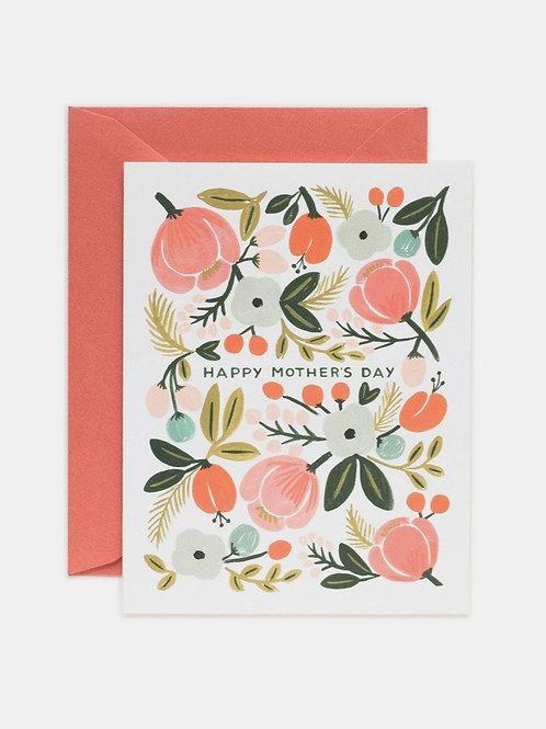 "Grußkarte ""Blooming Mother's Day"""