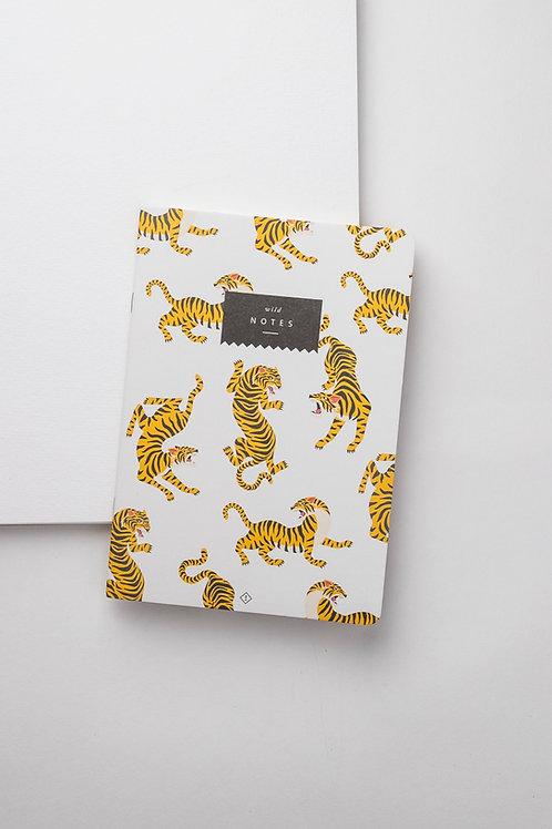 """Notizheft """"Tiger"""""""