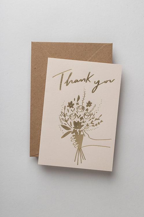 "Grußkarte ""Thank you"""