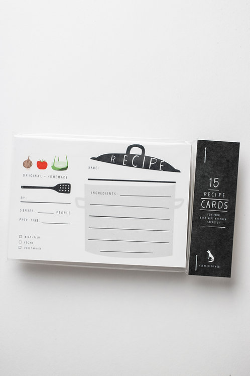 *SALE* Rezeptkarten (15 Stk.)