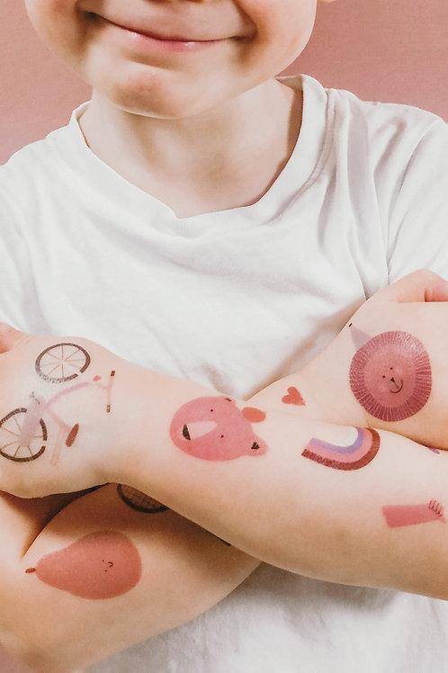 Tattoo Sets für Kids in unterschiedlichen Motiven