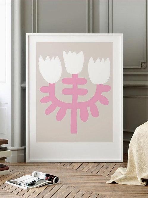 "Art Print ""Flowery No. 12"" (A4)"