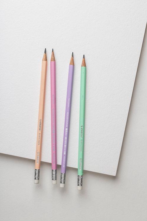 """Bleistiftset """"Pastell"""" (4er Pack)"""