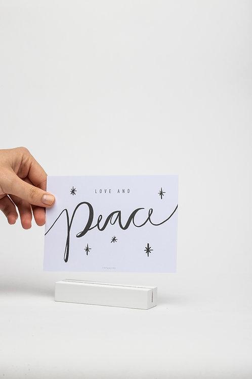 Kartenhalter 10,5 cm (weiß)