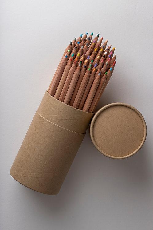 Muji Buntstifte Set aus Holz (60 Farben)