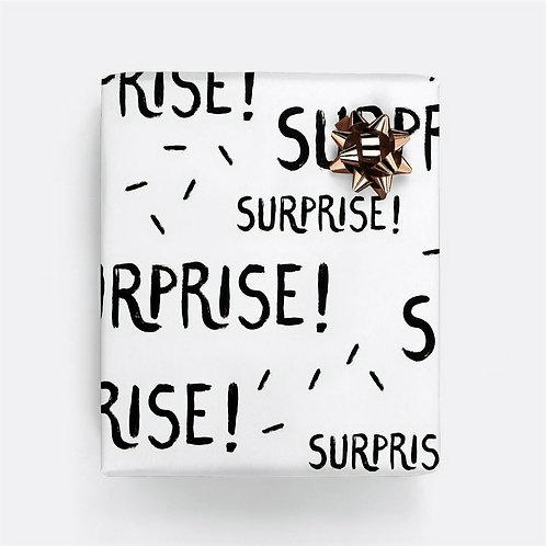"""Geschenkpapier """"Surprise"""" (gefaltet)"""