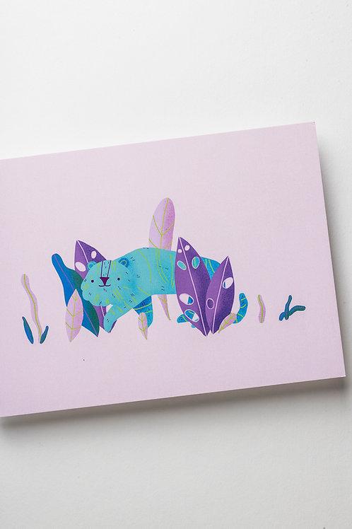 """Art Print """"Tropical Tiger"""" (A5)"""