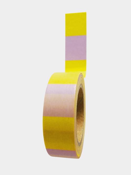 "Washi Tape ""Yellow Lilac"""