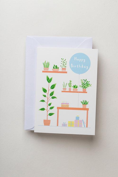 "Grußkarte ""Birthday Studio"""