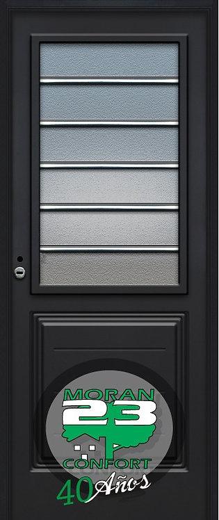Puerta Pavir 69 Vidrio Repartido