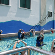 Yoga-inspired aquatic workout with PCSH, 2019