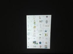 Tracings (digital wallpaper), 2017