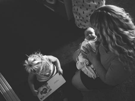 Welcome Home Little One | The Redmans | Family Photography