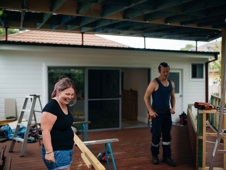 The Redman Family | Home Renovations | Newcastle Family Documentary Photographer