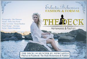 Bec Peterson, Newcastle Natural Light Fashion Photography
