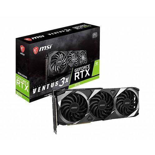 MSI NVIDIA GeForce RTX 3070 VENTUS 3X OC 8GB GDDR6 HDMI/3DisplayPort PCI-Express