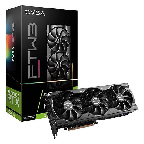 EVGA NVIDIA GeForce RTX 3060 Ti FTW3 ULTRA GAMING 8GB GDDR6 HDMI/3DisplayPort PC