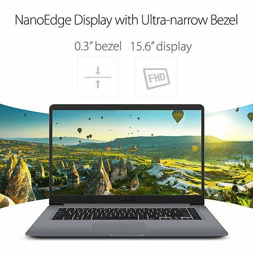 "ASUS VivoBook 15.6"" HD Nanoedge Laptop, Intel Core i5-8250U Processor, 8GB DDR4"