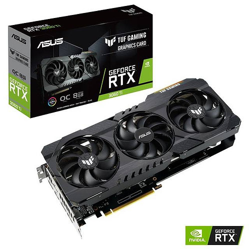 ASUS TUF Gaming NVIDIA GeForce RTX 3060 Ti OC Edition 8GB GDDR6 2HDMI/3DisplayPo