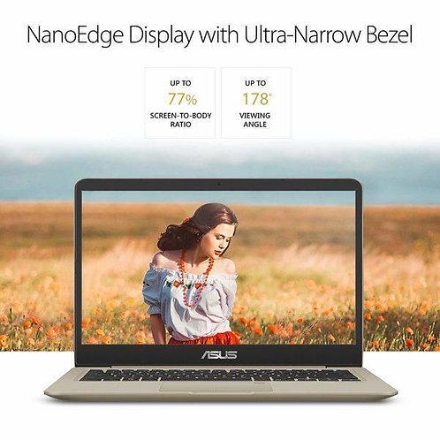 ASUS VivoBook S Thin & Light Laptop, 14″ FHD, Intel Core i7-8550U, 8GB