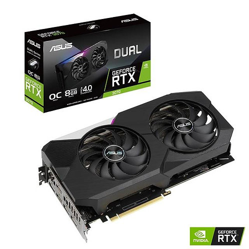 ASUS NVIDIA GeForce RTX 3070 OC Edition 8GB GDDR6