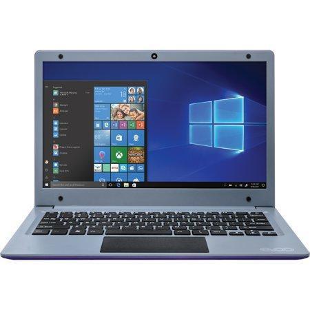 EVOO 11.6″ Ultra Thin Laptop, 3GB RAM 32GB Storage Windows 10S, Purple