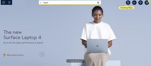 Surface Laptop 4 Launch on Walmart