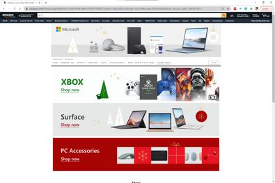 Amazon Microsoft Holiday Billboards