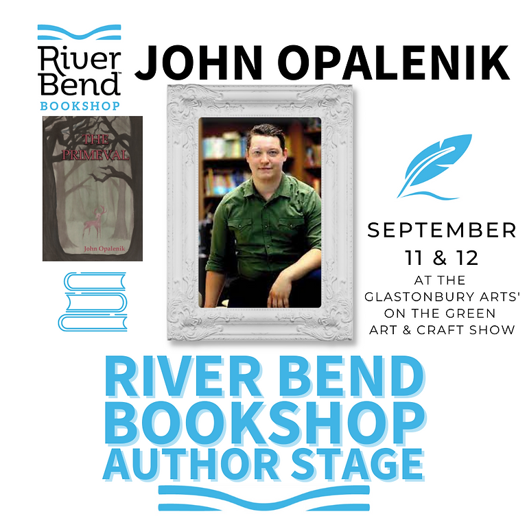 John Opalenik at the River Bend Bookshop Author Stage