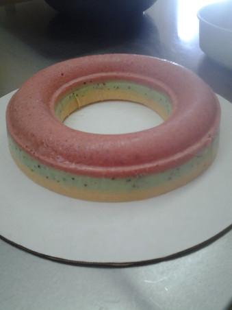 Frozen Sourbet Trifle Ring