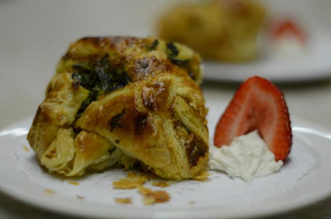 Spinach & Artichoke Puff Pastry