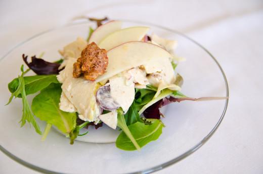 Spinach & Pear Salad
