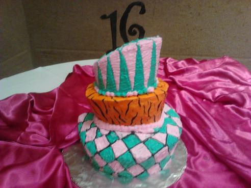 Sweet 16 Topsy Turvy