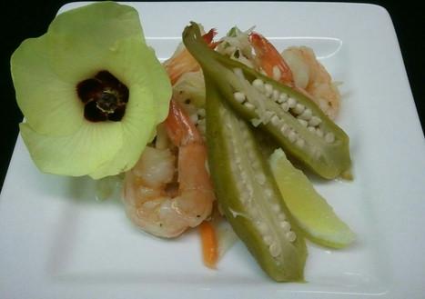 Pickeled Shrimp & Okra