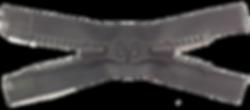 Литая застежка-молния тип 8