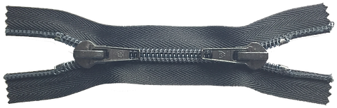 Застежка-молния тип 20 с двумя замками